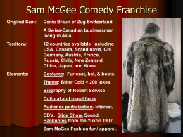 Sam McGee Franchise