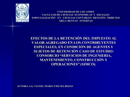 Diapositiva 1 - Postgrado en Ciencias Contables