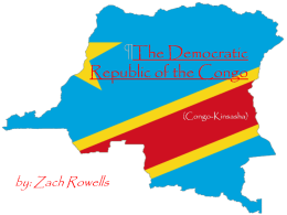 The Democratic Republic of the Congo (Congo