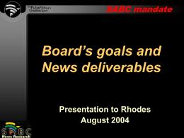 SABCnews.com - Rhodes University