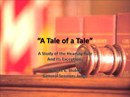 """A Tale of a Tale"""""""