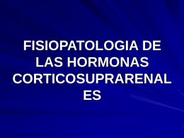 FISIOPATOLOGIA DE LAS HORMONAS …