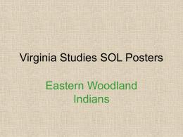 Virginia Studies SOL Posters