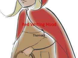 Red Writing Hood - Clark County School District
