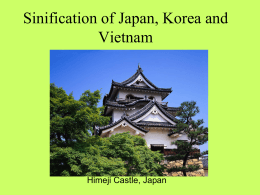 Sinification of Japan, Korea and Vietnam - DeMott