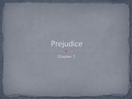 Prejudice - Ashton Southard