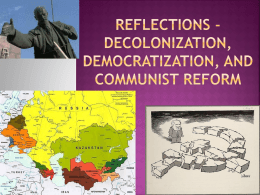 "Reflections on ""Decolonization, Democratization, and"