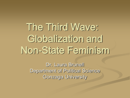 The Third Wave: Globalization and Non