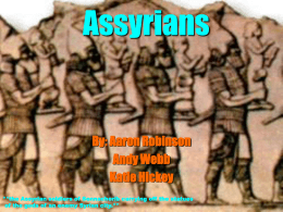 Timeline of Assyrian Empire - Home