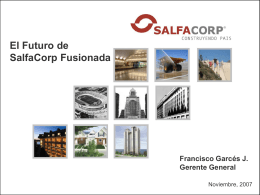 Diapositiva 1 - SALFACORP :: Portada