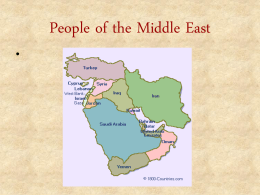 People of the Middle East - University of Missouri–St. …