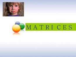 MATRICES - Inicio - rosembergs jimdo page!