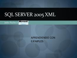 SQL Server 2005 XML