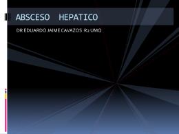 ABSESO HEPATICO - Residentes Urgencias | Blog de los