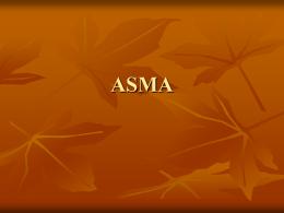 ASMA - Enfermeriavespertina's Blog