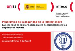 Diapositiva 1 - INCIBE - Instituto Nacional de Ciberseguridad