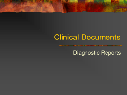 Clinical Documents - University of Florida
