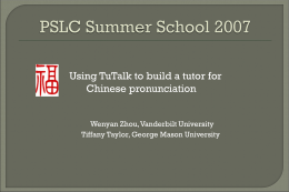 TuTalk Project