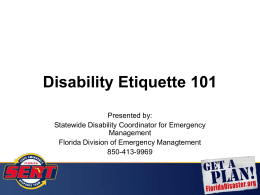 Emergency Management - FloridaDisaster.org
