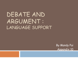 Persuasion: Language of Cause and Effect