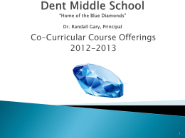 Dent Middle School - Richland County School District Two