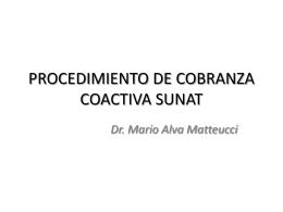 PROCEDIMIENTO DE COBRANZA COACTIVA SUNAT