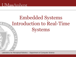Embedded Systems Sensors and Odometry