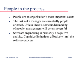 Managing people - Molde University College