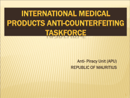 INTERNATIONAL MEDICAL PRODUCTS ANTI …