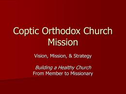 Coptic Orthodox Church Mission