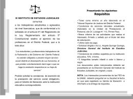 Diapositiva 1 - Instituto de Estudios Judiciales