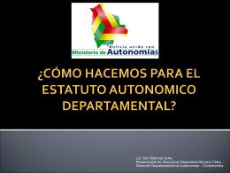 ANTEPROYECTO DE LEY DE MANCOMUNIDADES