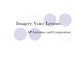 Imagery: Voice Lessons - AP-English-Wiki