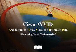 Deploying Voice over IP in Campus Environments