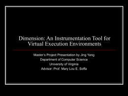 Dimension: An Instrumentation Tool
