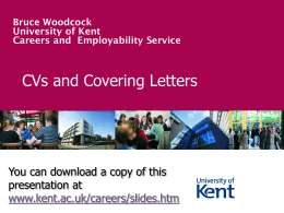 Computing Employers - University of Kent