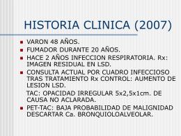 ADENOCARCINOMA DE PULMON CON PAPTRON