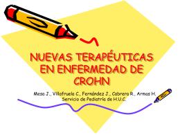 TALIDOMIDA EN ENFERMEDAD DE CROHN RESISTNTE