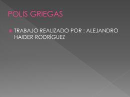 POLIS GRIEGAS