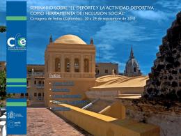 Diapositiva 1 - Consejo Iberoamericano del Deporte