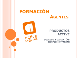 PRODUCTOS ACTIVE 2013