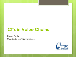 ICT's in Value Chains - Homepage | Making The …