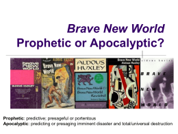 Brave New World Allusions