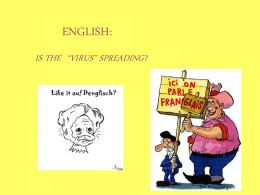 ENGLISH: - London Language