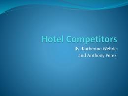 Hotel Competitors