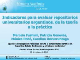 Memoria Academica