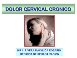 Expo dolor II - Web del Departamento de Medicina de
