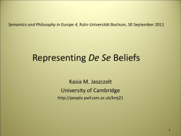 Contextualism and Minimalism about De Se Belief Ascription