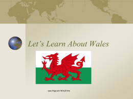 PowerPoint Presentation - Let's Learn About Wales