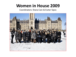 Women in House 2009